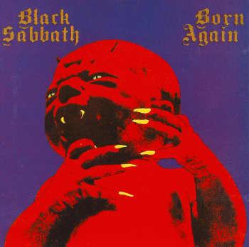 Black Sabbath Born Again 1983 Dinosaur Rock Guitar